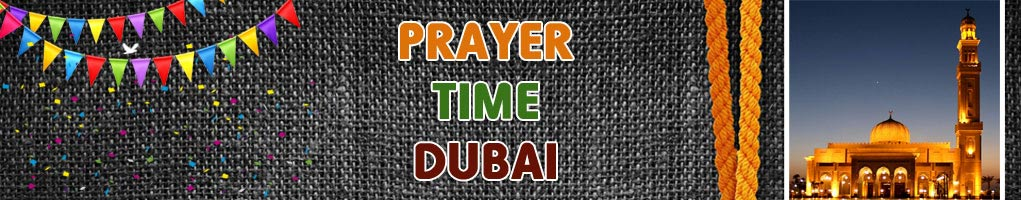 prayer time dubai